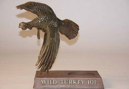 Wild Turkey Bourbon 10.75x8.75x5.25